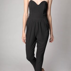 Dance and Marvel Black Jumpsuit | Size Small